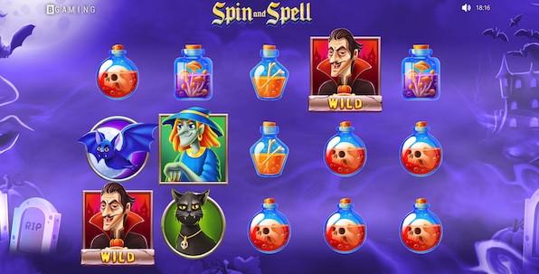 Spin and Spell : une ambiance atypique et réussie pour la nouvelle slot BGaming