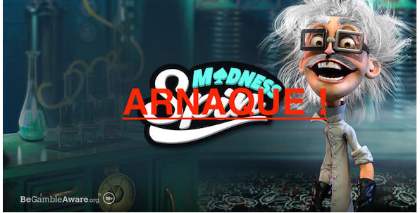 SpinMadness Casino : le pire exemple d'abus de la part d'un casino en ligne !