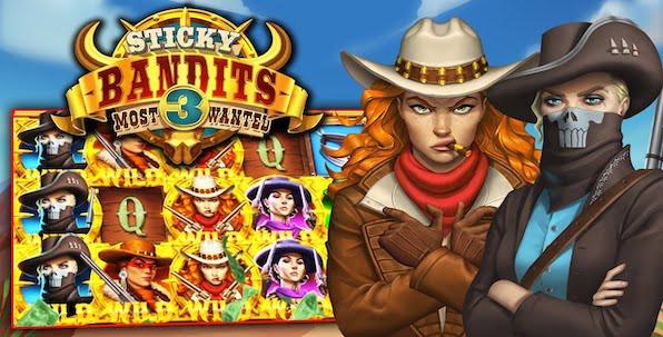 Sticky Bandits 3 Most Wanted, troisième volet épique de la série de slots Quickspin !