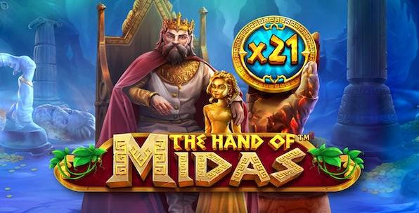 The Hand of Midas : l'une des machines à sous les plus passionnantes des casinos en ligne