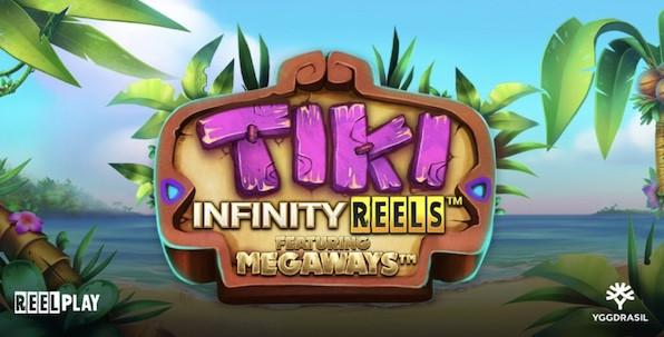 Tiki Infinity Reels featuring Megaways : nouvelle machine à sous réussie pour Yggdrasil !