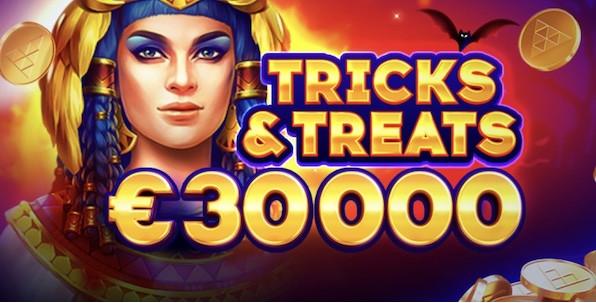 30,000€ à gagner en 4 jours pour Halloween avec Playson