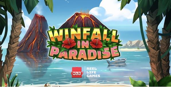 Winfall in Paradise, nouvelle machine à sous colorée et chaleureuse !