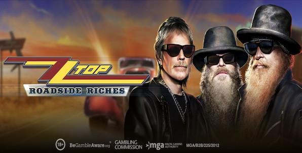 Play'n GO lance la machine à sous ZZ Top Roadside Riches !