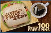 Vendredi Pause Déjeuner - Profitez de 100 free spins chez 333Palace