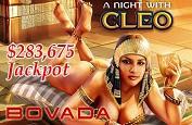 Jackpot de la machine à sous A Night With Cleo pour 283,264$