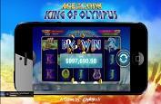 Jackpot d'1$ million grâce au coup de pouce de Playtech sur la slot Age of the Gods