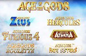 Playtech lance sa plus grosse promotion - 250.000£ de prix sur les machines Age of the Gods