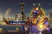 Le Dieu Anubis revient avec cette superbe slot Play'n GO : Ankh of Anubis