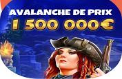 1,5€ millions à gagner sur Banzai Slots dès maintenant