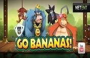 Netent l'ami des singes avec sa nouvelle création: Go Bananas