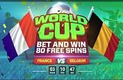 Mondial 2018 sur Bitstarz : Gagnez des free spins pour votre pronostic, qu'il soit gagnant ou perdant !