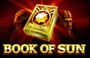 Book of Sun, une nouvelle preuve d'amour pour l'Egypte Antique, par Booongo
