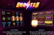 iSoftBet file dans l'espace avec la sortie de la slot Booster