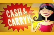 Premier jackpot sur la machine à sous Cash & Carry pour 152.964 euros