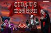 25,000€ à se partager grâce à la slot Circus of Horror, sur Stakes