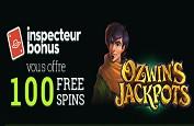 Bonus exclusif InspecteurBonus ! 100 Free Spins avec le premier dépôt sur Cresus