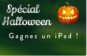 Gagnez un iPad ou une smartbox avec la promotion Halloween de Cresus Casino