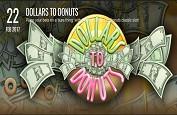 Rival Gaming annonce la machine à sous Dollars to Donuts pour le 22 février