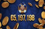Jackpot record de Empire Fortune pour 5.197.198€