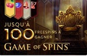 Game of Spins sur Cresus, gagnez des free spins cette semaine
