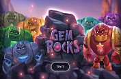 Des blocs de pierres, des monstres et un mode avalanche pour la nouvelle machine à sous Gem Rocks