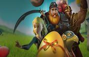 Trouvez les oeufs de Pâques et récoltez 70,000€ de prix du 17 au 22 avril !