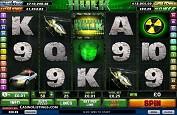Un jackpot de 469.168$ remporté sur l'Incroyable Hulk de Playtech