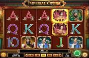 Imperial Opera, la représentation théâtrale en machine à sous par Play'n GO