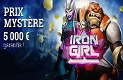 Iron Girl, la justicière spatiale de la nouvelle slot Play'n GO