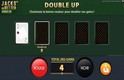 Jacks or Better Double Up, nouvelle variante de video poker de NetEnt