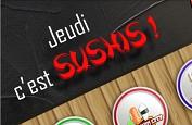 Jeudi Sushi : 200 Free Spins de qualité à gagner aujourd'hui sur BanzaiSlots