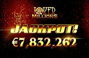 Jackpot record chez Yggdrasil ! 7,8€ millions décrochés par un chanceux joueur