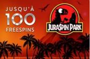 Juraspin Park ou comment gagner des free spins sur Monsieur Vegas, Cresus et Oscar et Bianca