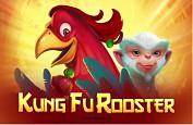 Un coq expert en arts martiaux avec la slot Kung Fu Rooster