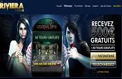 Fêtez les 5 ans du casino La Riviera avec 500 euros de bonus et 50 free spins
