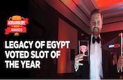 Legacy of Egypt reçoit le prix de Slot of the Year pour l'année écoulée !