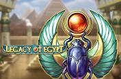 Legacy of Egypt, nouvelle immersion réussie au pays des pharaons avec Play'n GO