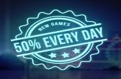 50% de bonus tous les jours jusqu'au dimanche 12 août