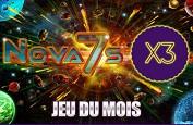 Triplez vos points de fidélité Majestic Slots sur la machine à sous Nova 7s en mars
