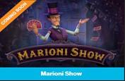 Jouez avec le croupier avec la future machine à sous Marioni Show