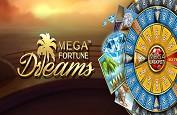 Mega Fortune Dreams et un nouveau jackpot de 4€ millions pour fêter le début de semaine