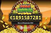 Nouveau record du monde confirmé pour le jackpot à 18,9€ millions de Mega Moolah !