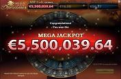 Mega Fortune Dreams disponible sur les casinos Netent