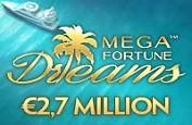 Détails sur le récent jackpot de 2.7€ millions de Mega Fortune