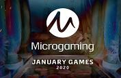 Les quatre machines à sous Microgaming que vous découvrirez en janvier 2020