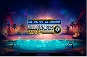 Un nouveau millionnaire avec la machine à sous Pokerstars Millionaire Island