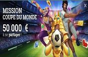 50,000€ à se partager avant la Finale de la Coupe du Monde !