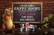 Happy Hours à 50% sur Monsieur Vegas ce vendredi soir