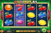 Multifruit 81 ou comment garder la forme avec la slot de Play'n GO